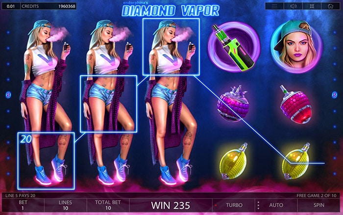 Diamond Vapor Slot review game