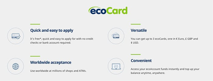 EcoCard how to