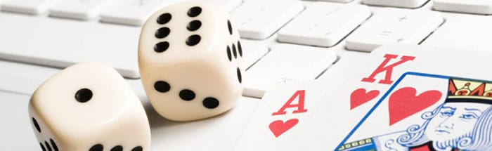 European Online Casinos keyboard
