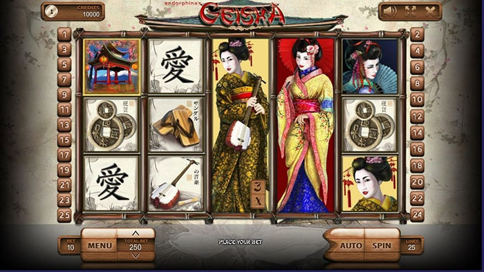 Geisha Online Casino Slot Review game