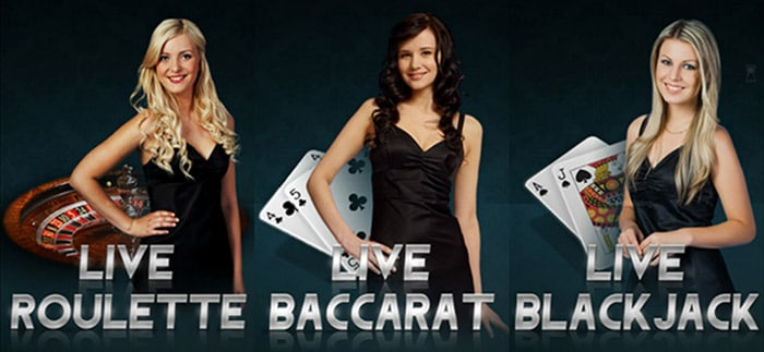 Live Online Casinos games