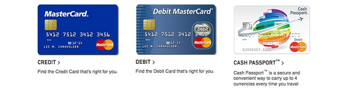 MasterCard Sportsbook cards