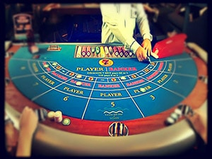 Online Baccarat history