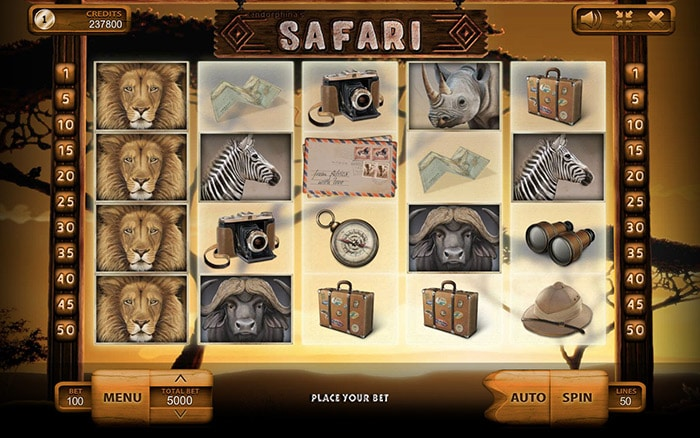 Safari Online Casino Slot Review game