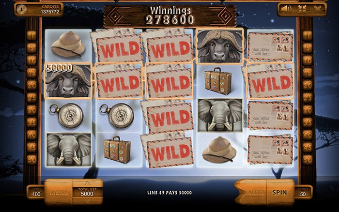 Safari Online Casino Slot Review gameplay