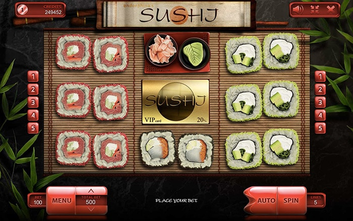 Sushi Online Casino Slot Review gameplay