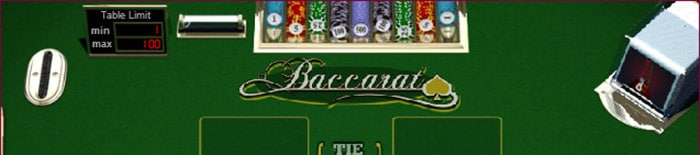 Table Games baccarat