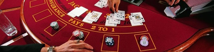 Table Games blackjack