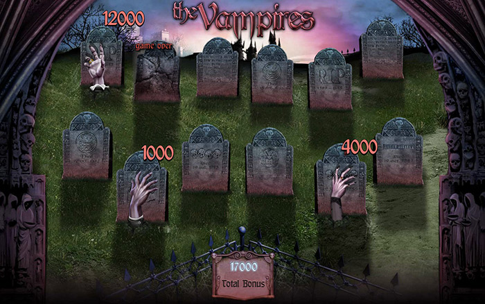 The Vampires Online Casino Slot Review game