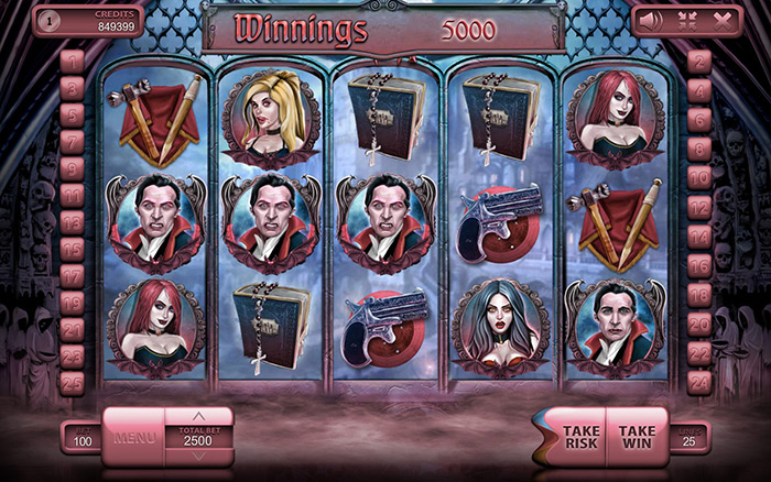 The Vampires Online Casino Slot Review gameplay